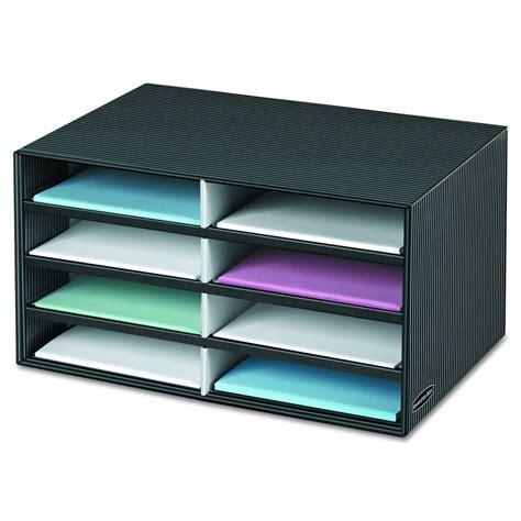 8 slot letter paper sorter desk office mail file catalog