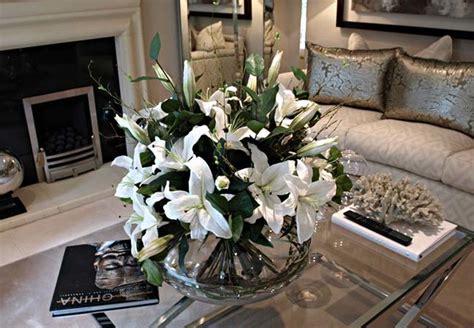 coffee table flower arrangements flower arrangement for living room table modern house