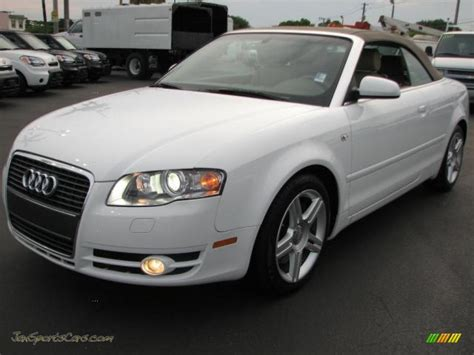 2008 audi a4 2 0t cabriolet in ibis white photo 5