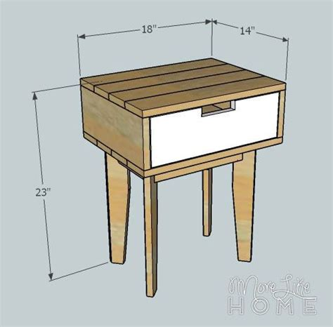 free nightstand woodworking plans reclaimed wood nightstand plans woodworking projects plans