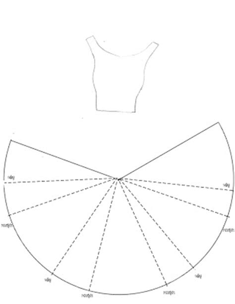 dress template for card paper crafting obsession dress card