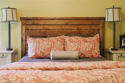 wooden king headboards diy king headboard ideas simple to make