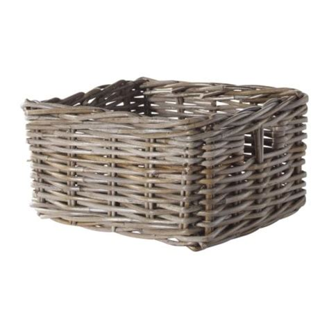 ikea baskets byholma basket gray 9 190 x11 189 x6 quot ikea