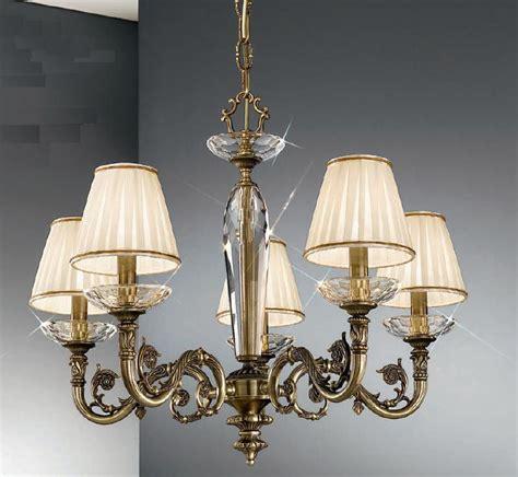 antique chandeliers uk kolarz contarini 5 light antique brass chandelier with