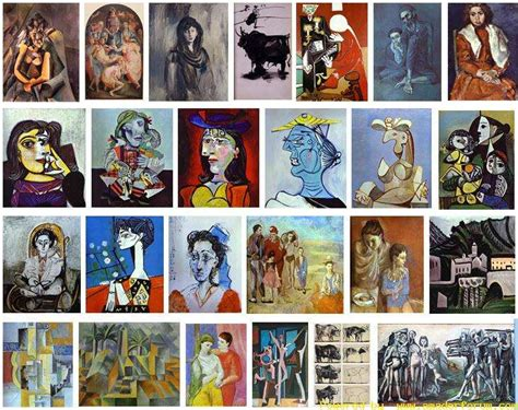 List Of Picasso Paintings View All Paintings Of