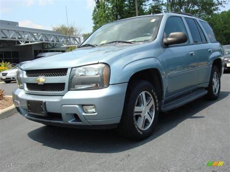 2006 Trailblazer Lt by 2006 Silver Blue Metallic Chevrolet Trailblazer Lt