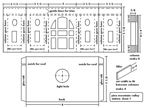 Blue Prints For A House building the union station