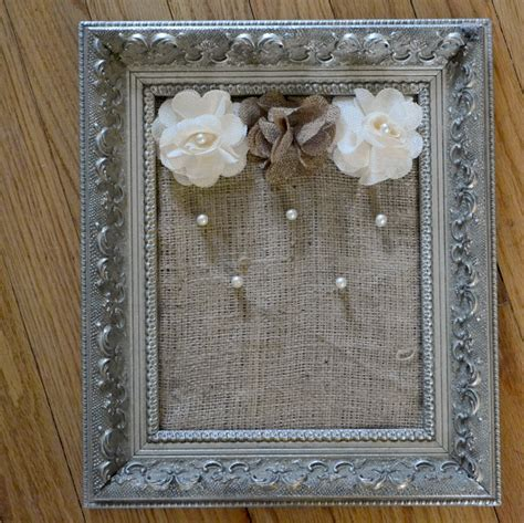 how to make jewelry holder picture frame easy diy framed jewelry holder