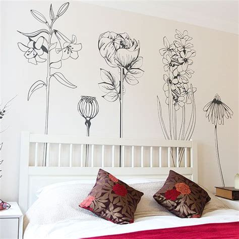 flower stickers for walls best 25 flower wall decals ideas on wall