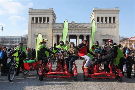 Englischer Garten München Fahrradverleih by Biertour Mit Conferencebike Die Pedalhelden