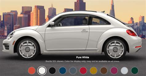 paint colors for vw beetle 2017 volkswagen beetle paint colors