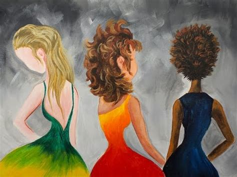acrylic painting hair learn to paint hair in acrylic paint for beginning artists