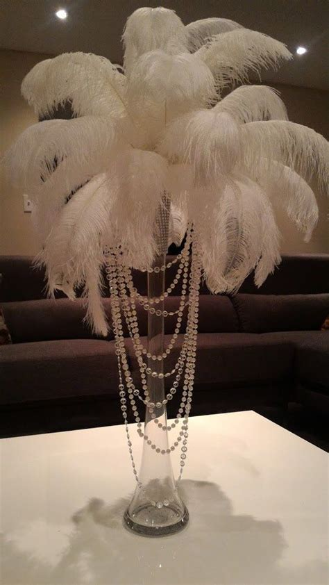 feathers for centerpieces best 25 ostrich feather centerpieces ideas on