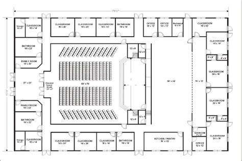 church floor plans free small church floor plan designs