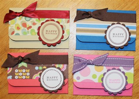 make gift card holder creative smiles gift card holders tutorial version 2