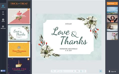 make your own thank you cards free wedding thank you cards design your own wedding cards