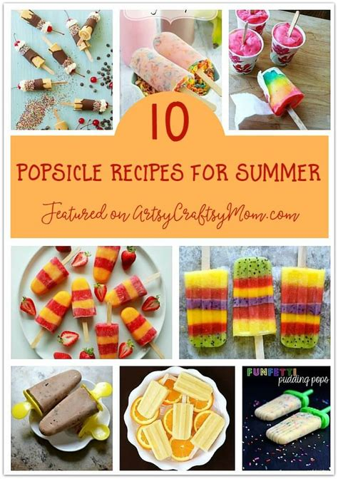 summer food crafts for the ultimate list of 100 summer activities for