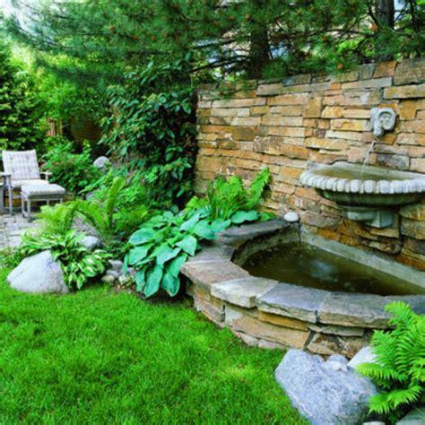 garden feature wall ideas splashy wall