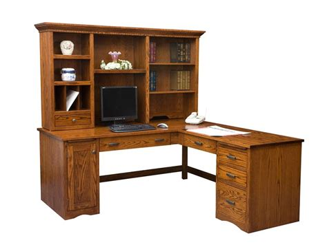 desk with return and hutch desk with return and hutch aspenhome richmond l shaped