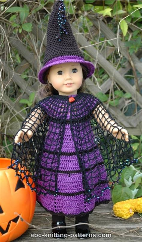 free knitting patterns for dolls hats abc knitting patterns american doll witch s hat