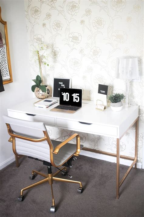 white home office 25 best ideas about white desk office on
