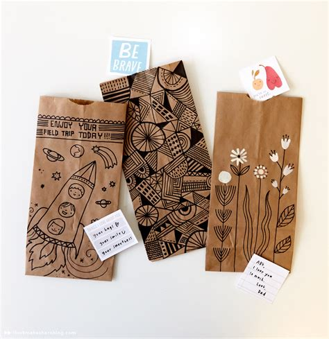 paper lunch bag crafts brown paper bag crafts you to make the cottage market