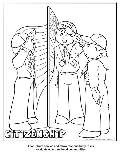 printable coloring amp activity pages cub scout pack 16