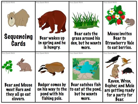 picture books for sequencing wants more speech language activities
