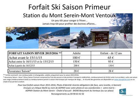 bilan et projets pour la station du mont serein la gazette locale