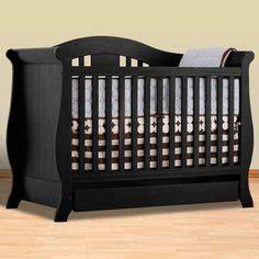 baby cribs black 1000 ideas about black crib on cribs orange