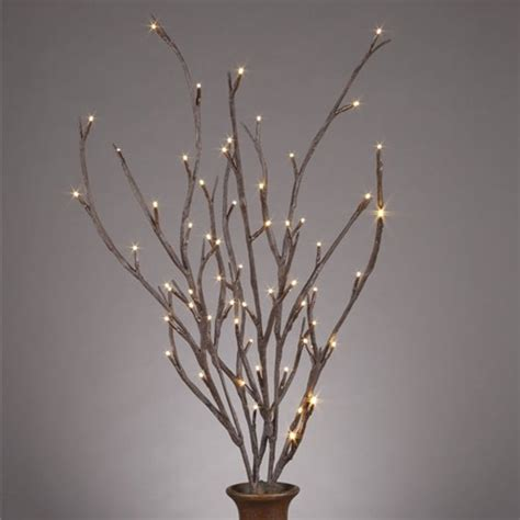 branches with lights lighted willow branches contemporary home decor