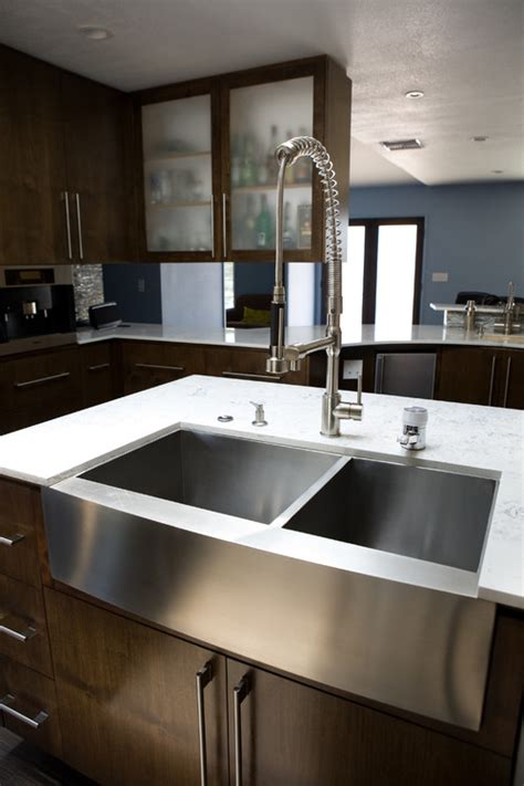 stainless farmhouse kitchen sinks stainless steel farmhouse sink 33 quot x 21 25 quot