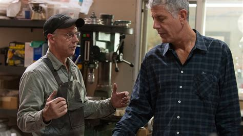 anthony bourdain knife anthony bourdain watches as master bladesmith bob kramer