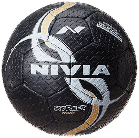 rubber st india nivia rubber football size 5 black price in