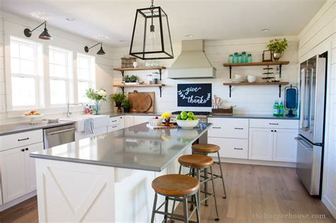 How To Update Old Kitchen Cabinets our farmhouse kitchen reveal the harper house