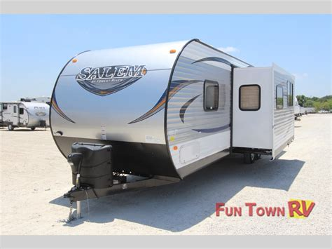 forest river travel trailers floor plans forest river salem bunkhouse travel trailers so many