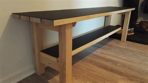 Kitchen Cabinet End Shelf by Ikea Norden Bench Upgrade For Landing Space Ikea Hackers