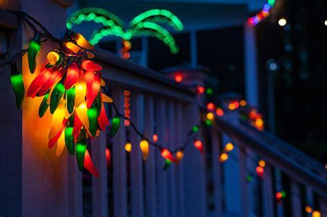chili pepper lights patio lights yard envy