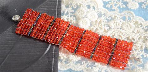 ladder stitch beading patterns how to do a beaded ladder stitch bracelet pandahall