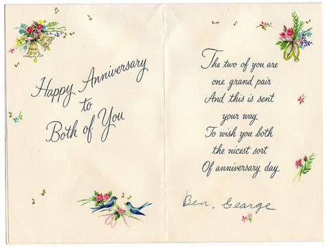 anniversary card ideas for impressive wedding anniversary cards best