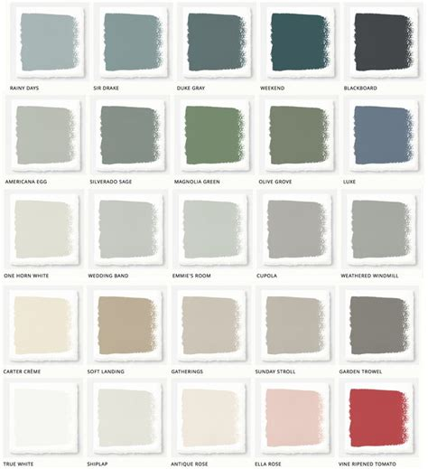 paint colors recommended by joanna gaines best 25 fixer paint colors ideas on