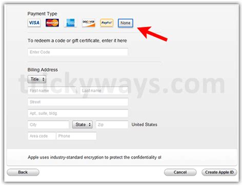 make an itunes account without credit card how to create itunes account without credit card paypal