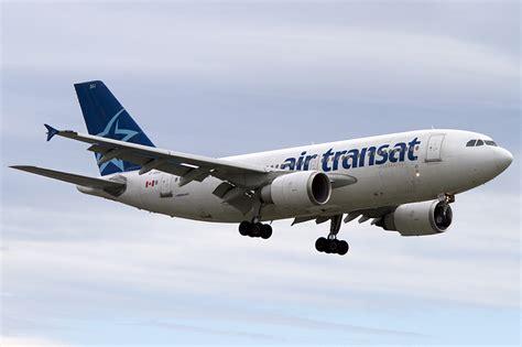 air transat c gsat airbus a310 308 24 08 2011 yul montreal canada flugzeug bild de