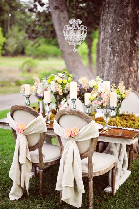 shabby chic weddings vintage country wedding table decorations photograph europ