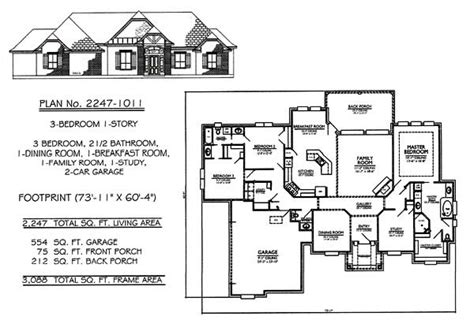 three bedroom two bath house plans 1701 2200 sq 3 bedroom house plans