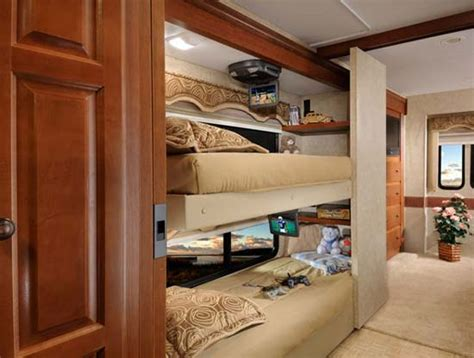 used class a motorhomes with bunk beds roaming times rv news and overviews