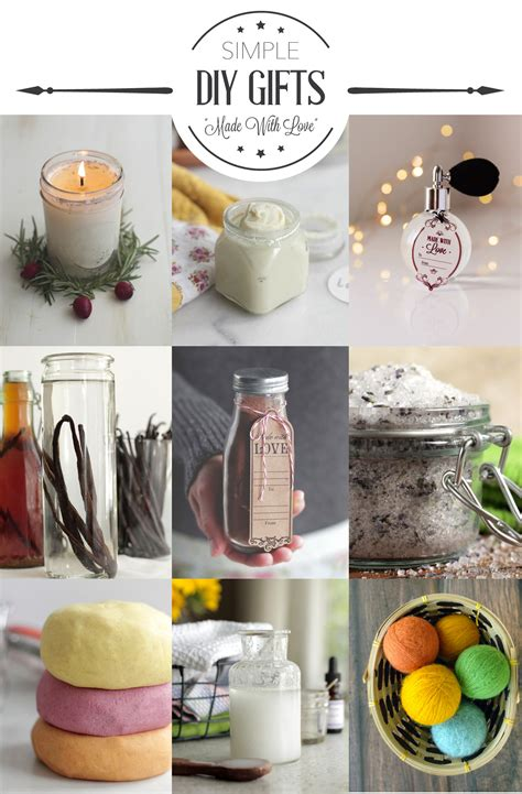 ideas for easy 11 simple diy gift ideas live simply