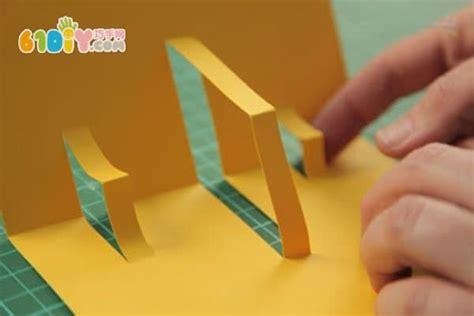 how to make cards with photos 立体新年贺卡制作教程 手工小制作