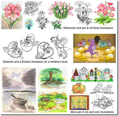 types of picture books different illustration styles