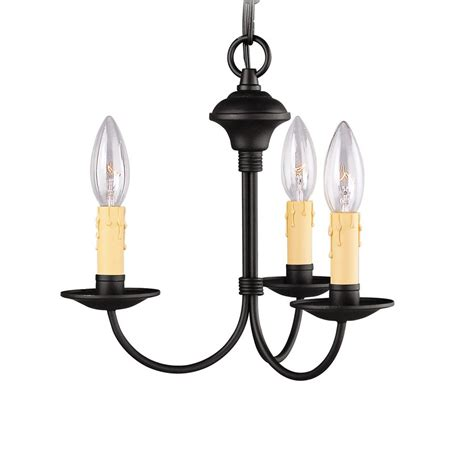 lowes chandeliers black lowes chandeliers black shop artcraft lighting 3 light